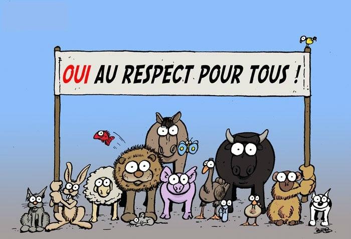 Respecter tous les animaux